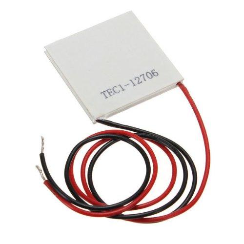 EWS Wholesale 10 pcs TEC1-12706 Cooler Peltier Effect Thermoelectric Module 12V 60W 72W<br><br>Aliexpress