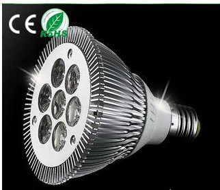 Dimmable PAR30 7W led spot light,E27 dimmable led light,Pure Alumium,High lumens led lamp,Factory direct sale(China (Mainland))