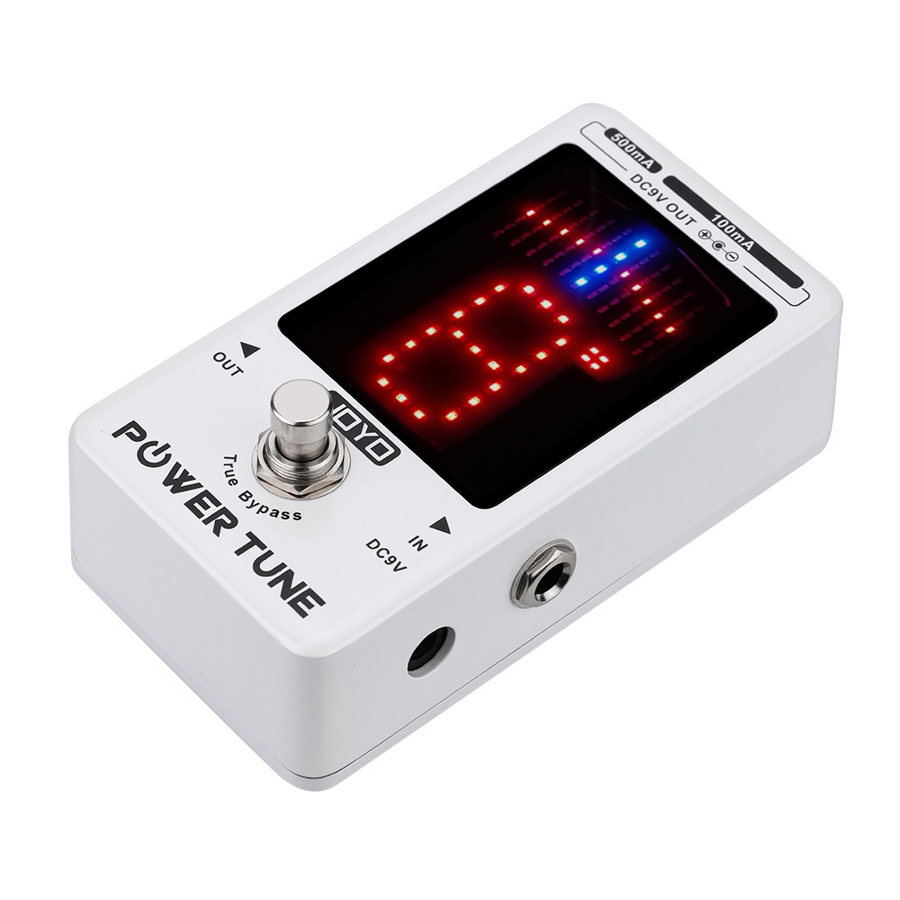 JOYO New Arrival!!! Multi-power Power Supply Supplier Effect Power Tune True Bypass Electric Guitar Bass Tuner & 8 Port Hot Sale(China (Mainland))