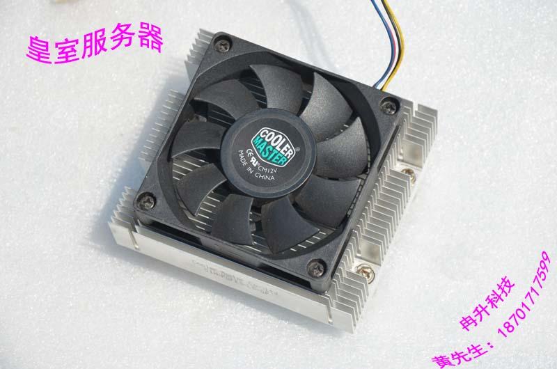 S5000 771CPU 5100, 5400 motherboard heatsink mute 4-pin Fan Heatsink heatsink 2U(China (Mainland))