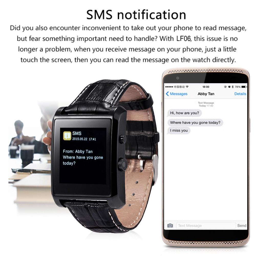 ถูก บลูทูธ4.0สมาร์ทนาฬิกาข้อมือผู้ชายS Mart W Atchนาฬิกาข้อมือสวมใส่อุปกรณ์สำหรับA Pple IOS A Ndroidโทรศัพท์ชีวิตกันน้ำ
