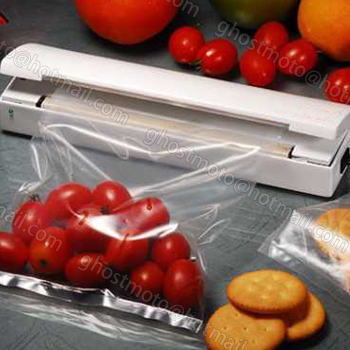 Portable Reseal And Save handy Plastic Food Saver Storage Bag Sealer Keep food fresh & reduce waste vacuum packer free shipping(China (Mainland))