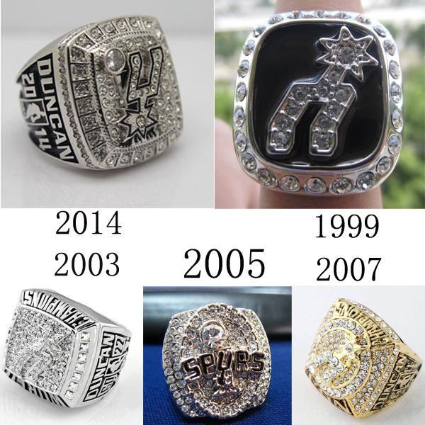 San Antonio Spurs 2014 Nba Championship Ring | Basketball ...