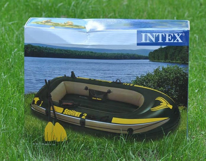 2 people two thick rubber boat canoe inflatable boat fishing boat(China (Mainland))