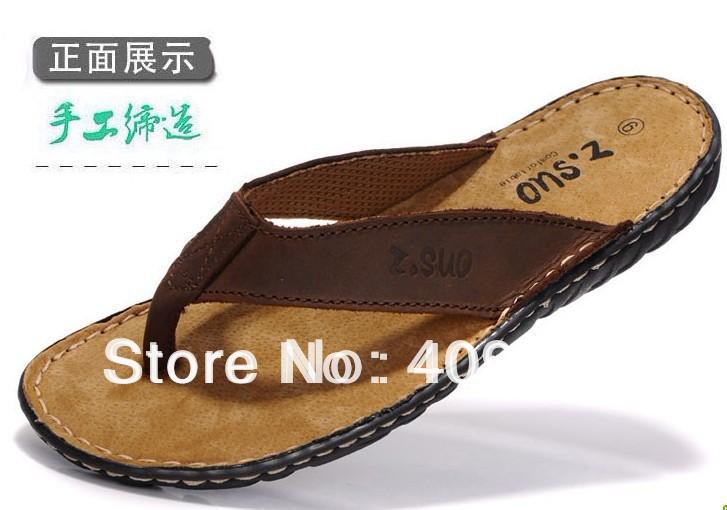 !2014 summer daily leisure men's flip flops men dragged flip-flops sandals slippers male 601  -  DK Trading Co., Ltd store