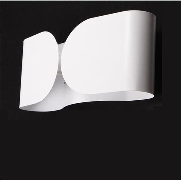 Modern Creative Contemporary flos foglio wall Sconce Designed by Tobia Scarpa White Metal Wall Lamp Sconce WL13-WHB(China (Mainland))