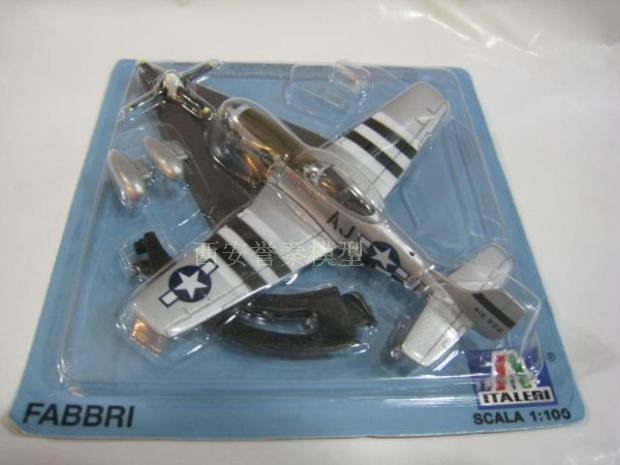 1/100 P-51 FABBRI/ITALERI model of the fighter plane model(China (Mainland))