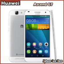 Original Huawei Ascend G7 16GBROM 2GBRAM 5.5 inch Smartphone EMUI 3.0 MSM8916 Quad Core 1.2GHz Dual SIM / Play Store / 3000mAh