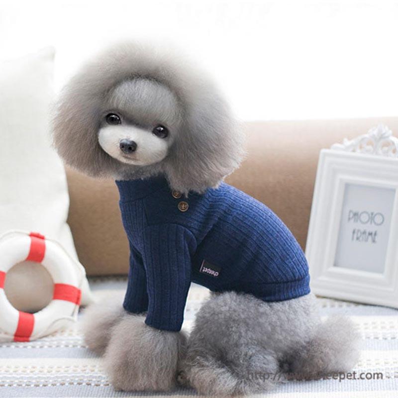 Elegant Cat Pet Dog Hoodie Coat Jumpsuit Sweater small Dogs puppy Sweatshirts Clothing dog Chihuahua knit crochet shirt clothes(China (Mainland))