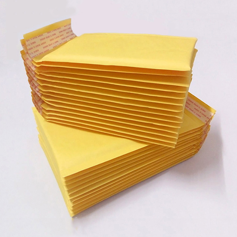 10 pcs/lot (110*130mm) Bubble Mailers Padded Envelopes Packaging Shipping Bags Kraft Bubble Mailing Envelope Bags(China (Mainland))