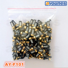 200pieces/set 12*6*3mm top feed auto parts  universal micro basket  fuel injector filter  for bosch injectors(ASNU03C,AY-F101)(China (Mainland))