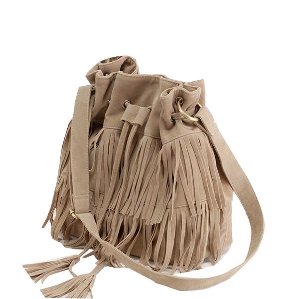 New 2015 Real Hot Bolsas Femininas Celebrity Tassel Fringe Shoulder Messenger Bags Handbags Women Famous Brands Cross Body Bag 5(China (Mainland))