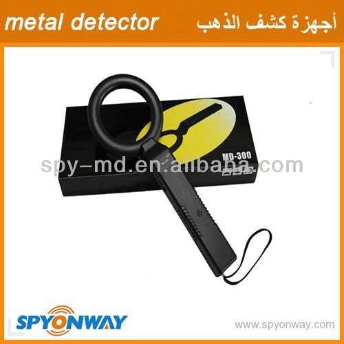 MD-300 HandHeld Portable Security Metal Detector Scanner HighSensitivity detecting Instrument Metal Scanner Kit Security Product(China (Mainland))