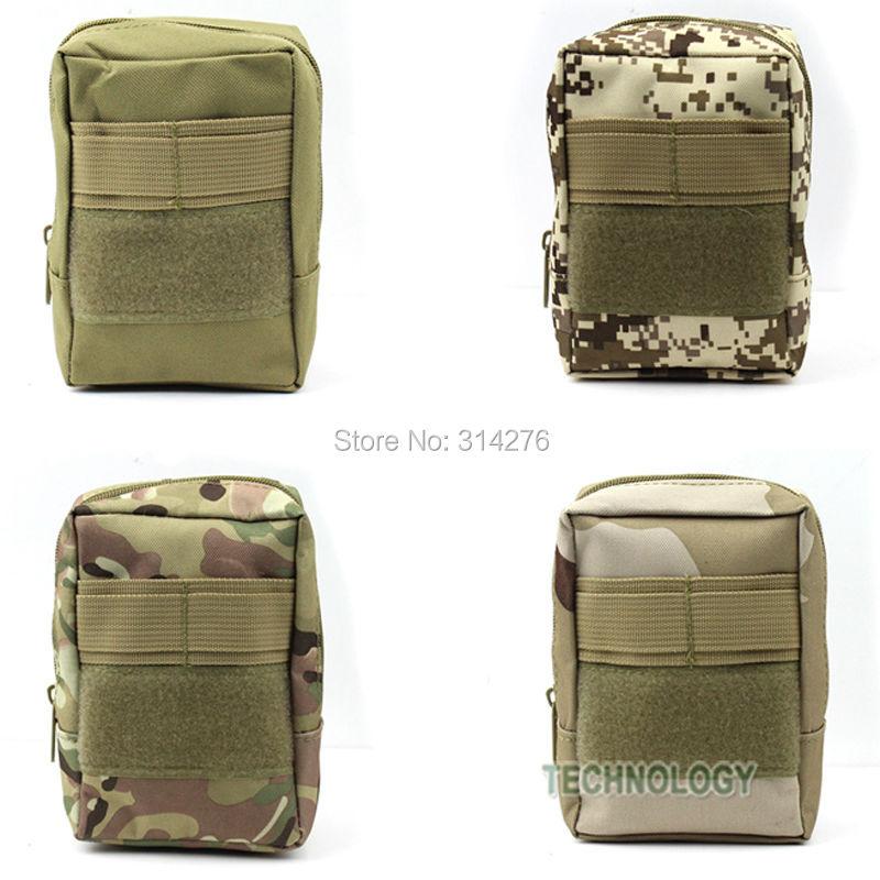 Outdoor Modular Multifunctional For iPod iPhone Mini Camera Holder Belt Tactical Utility Molle Waist Bag Pouch(Hong Kong)
