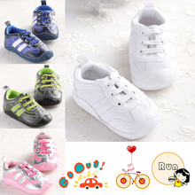 1-2 year-old Children Kids Baby crib shoes boy girl sneakers 6-24 months Run Walk Rubber soled(China (Mainland))