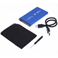 High Speed 2 5 inch USB 3 0 SATA HDD External Hard Drive Aluminum HD Enclosure