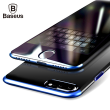Baseus Luxury PC Hard Back Cover Case For iPhone 7 Anti-scratch Electroplating Protective Phone Bag Shell For iPhone 7 Plus Case(China (Mainland))