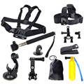 2016 Hot Sale Action Camera Head Chest Mount Floating Monopod Pole Accessories For GoPro Hero 1