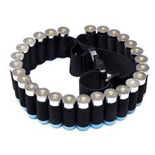 Buy Outdoor Airsoft Hunting Tactical 27 Gun Shell Bandolier Belt Gauge Ammo Holder Military Gun Cartridge Belt 140*5CM Outdoor for $4.04 in AliExpress store