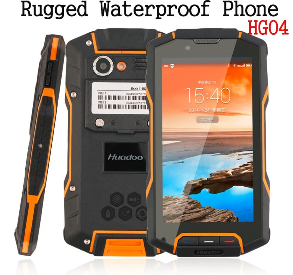 IP68 Shockproof Waterproof Phone original Quad Core IP68 rugged Android Smartphone Mobile HG04 4G FDD LTE GPS 2GB RAM GPS Runbo(China (Mainland))