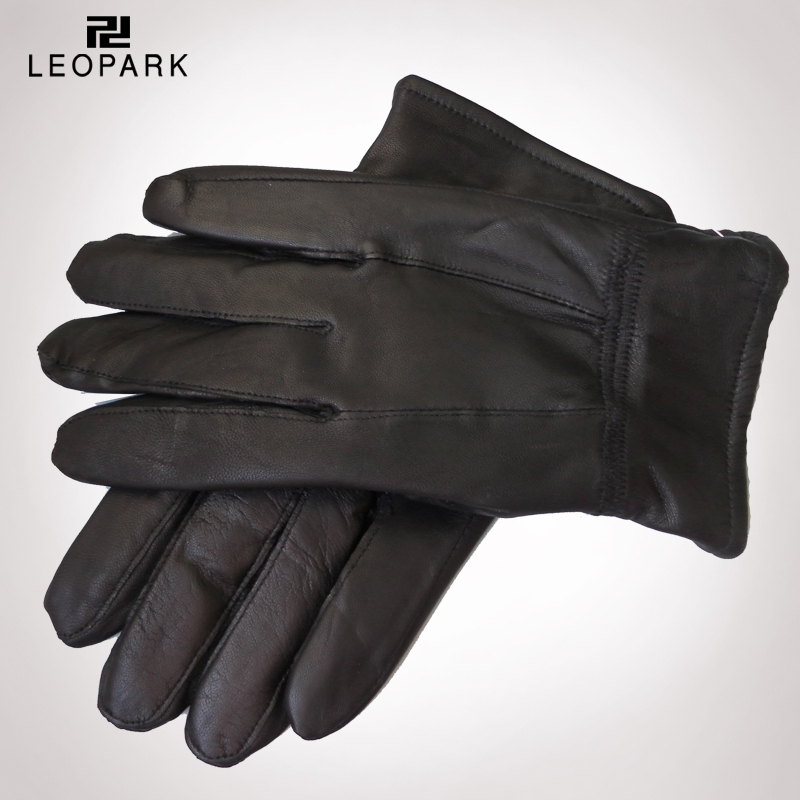 Leather Gloves For Men Winter Winter Leather Gloves Male