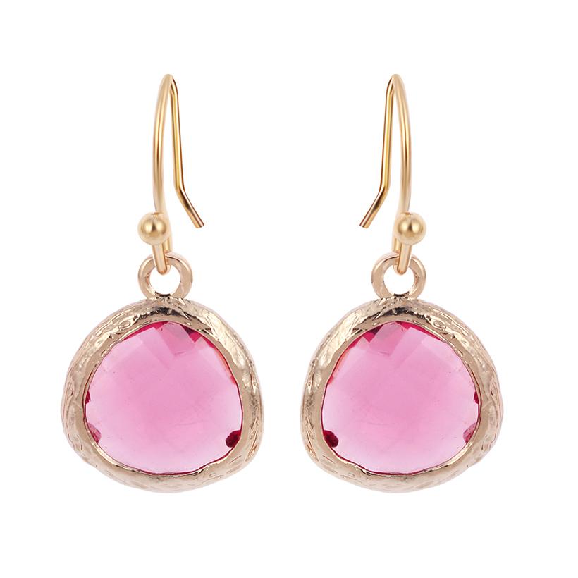 Pink Earrings For Girls 1Pair Colorful Earring...