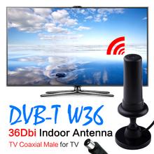 36dBi Digital DVB-T DVB T HDTV Freeview Aerial Booster Antenna For HDTV TV Black EL5935