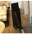 Free shipping 2016 women new summer fashion Korean version of gauze half length skirt long section