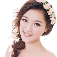 Korean Style Floral Hair Wreath