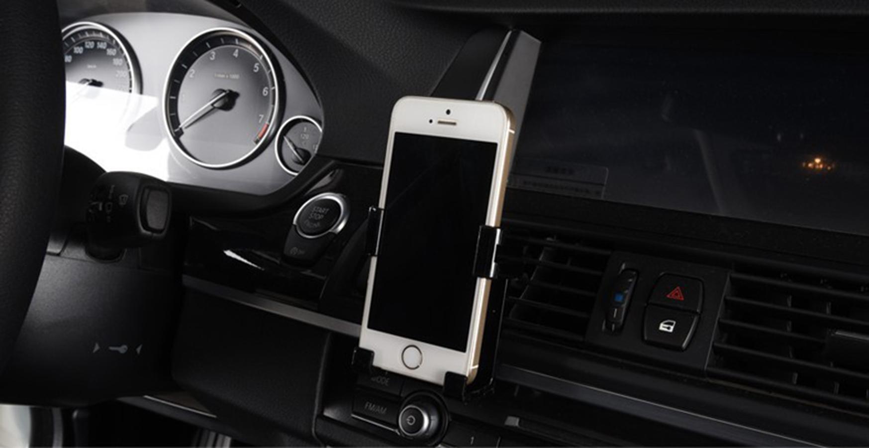 fit for nissan sunny versa qashqai x-trail note almera juke tiida free shipping abs engineering plastic car cellphone holder(China (Mainland))