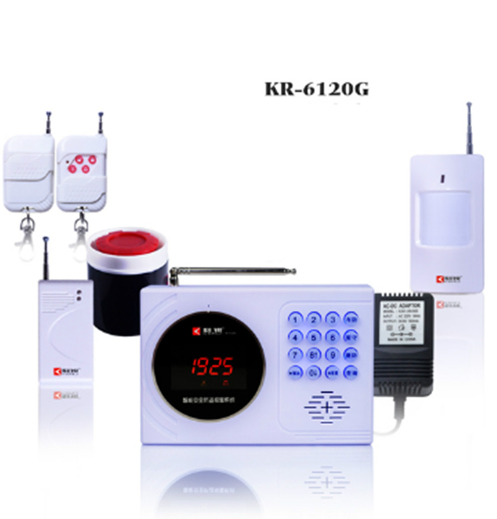 Здесь можно купить  Digital Clock Display GSM Burglar Alarm System 120 wireless defense zones and 2-wired zones  Безопасность и защита