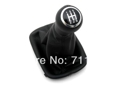 Gear Knob & Shift Boot Black For Audi A6 C5(China (Mainland))