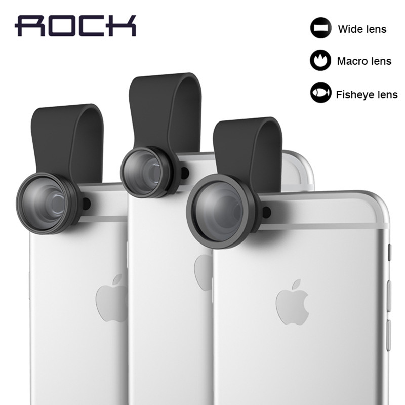 ROCK wide macro fisheye lens effects Self phone external camera phones Universal Macro(China (Mainland))