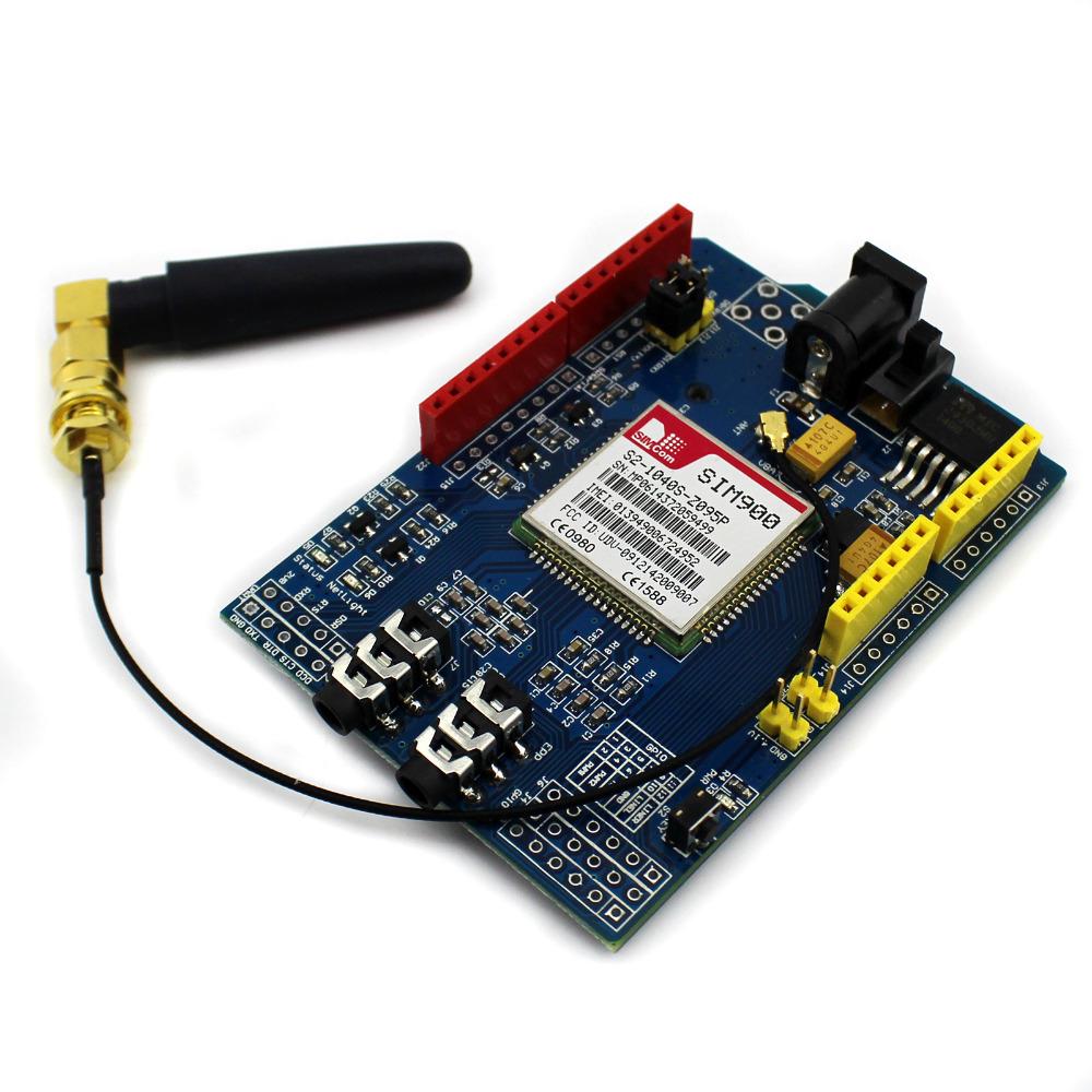 Sim quad band gsm gprs shield development board for