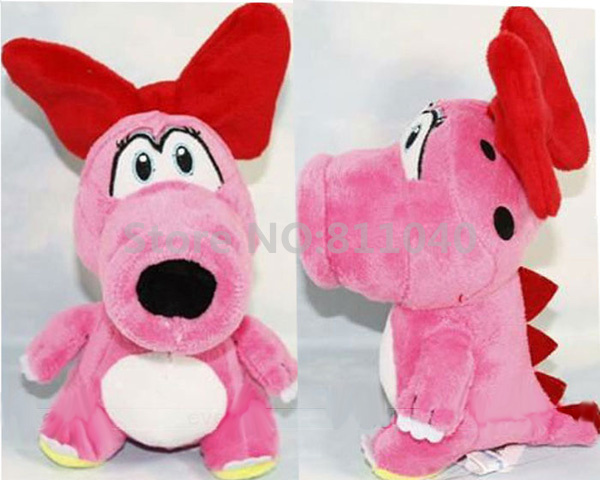 "New 2016 Super Mario Bros Cartoon Stuffed Toys Pink Birdo 6"" Plush Soft Toy Doll For Kids Gift(China (Mainland))"