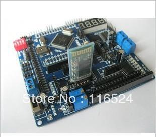 Freescale microcontroller development board learning board core board and get 80 downloads Smart car three groups