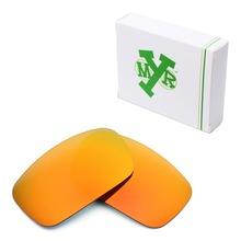 MRY POLARIZED Replacement Lenses for Oakley Crankshaft Sunglasses Fire Red
