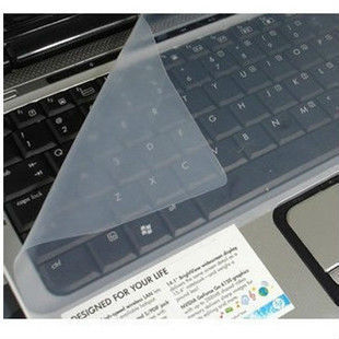 Free Shipping 50pcs/lot keyboard protective film for 17 inch laptop keyboard ,silicone keyboard protector skin,silicone cover