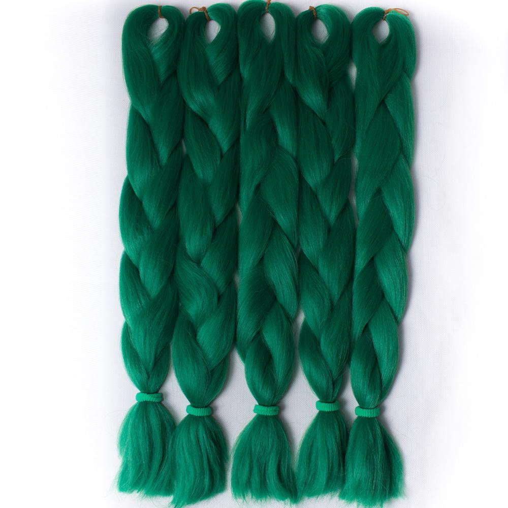 Sale Green Braiding Hair Extensions Xpression Jumbo Braid Hair