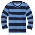 High Quality Polar Fleece 2016 Spring Atumn Carton Strip Solid Shirt Top hoodies sweatshirt Long sleeve
