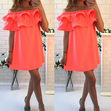 2016 new summer dresses sexy short sleeve beach dress fashion colorful women dress casual hot sale mini dresses vestidos CD1329(China (Mainland))