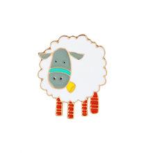 Divertente animale smalto pin Gatti pecore dinosauro distintivo spilla pin del Risvolto per il Denim Jean camicia sacchetto Del Fumetto del Regalo Dei Monili per le donne i bambini(China)