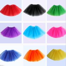 Children dance skirt  girls and children skirt Princess Tutu three layer gauze skirt(China (Mainland))