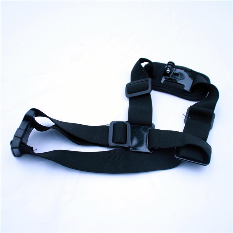 New Shoulder Harness Mount Adjustable Size for GoPro Hero 4/3+/3/2/1 SJ4000 SJ5000 SJ7000 Action Camera