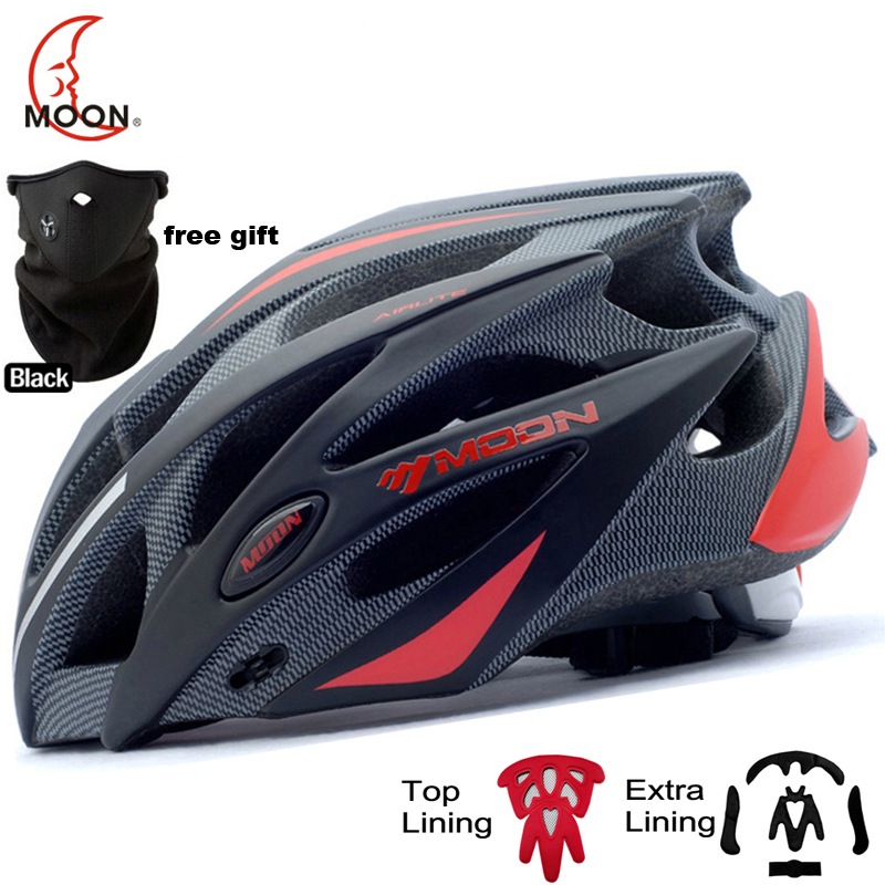 MOON Upgrade Cycling Helmet CE Certification Integrally molded Bicycle Helmet MTB Mountain Road Bike Helmet Casco