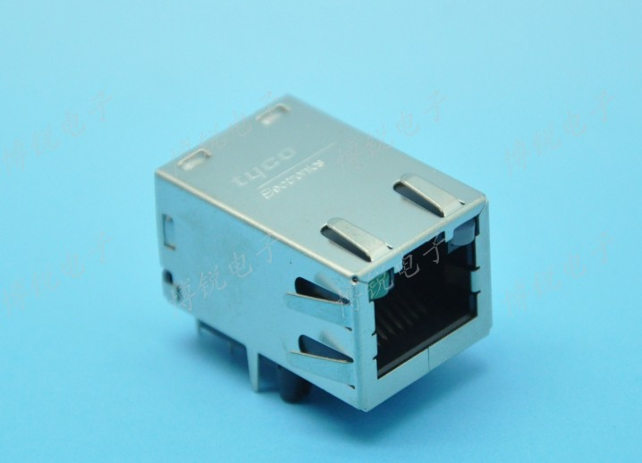 AMP TYCO Gigabit Ethernet network interface connector RJ45 connector with filter type : 1775668-2<br><br>Aliexpress
