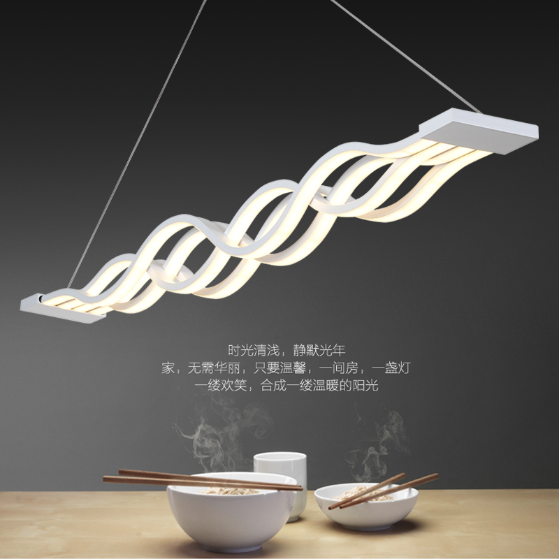016 new products, patented product, the world's limited sales, waterlines chandeliers, wave pendant lamp, LED restaurant lights(China (Mainland))