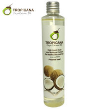 Tropicana 100% Natural Organic Extra Virgin Coconut Oil Thailand Best Cold Press Coconut Oil Skin Hair Care Essential Oil(China (Mainland))