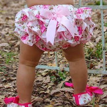 2015 New Baby Ruffle Bloomer PP Pants Kids Girl Skirt Diaper Cover Culotte Pant Skirt Factory Hot Sale(China (Mainland))