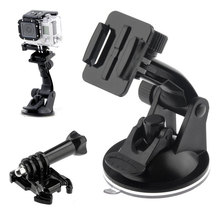 GoPro Car Suction Cup Dash Windshield Mount Rubber Sucker Holder for Go pro 2 3 3+ 4 SJ4000 Xiaomi yi Camera accessories